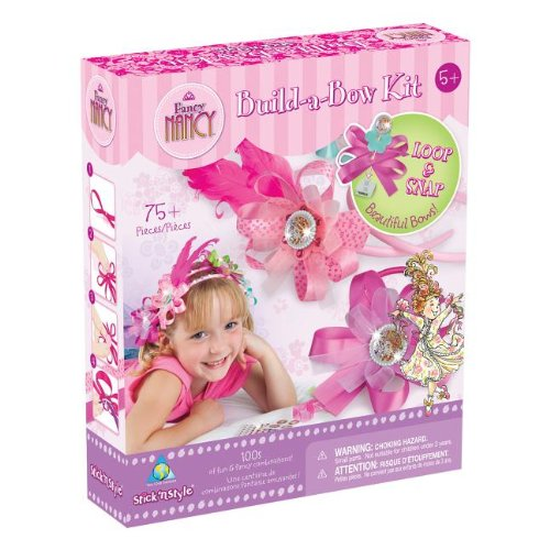 Fancy Nancy Stick'n Style Build-a-Bow