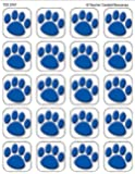 Teacher Created Resources Blue Paw Prints Stickers (5747)