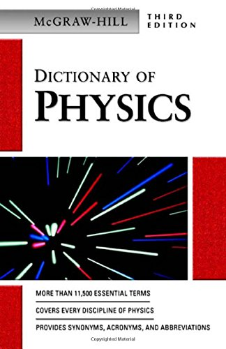 Dictionary Of Physics