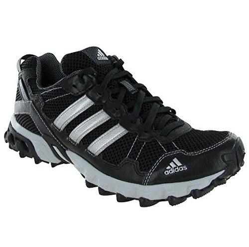 adidas Performance Men's Thrasher 1.1 M Trail Running Shoe, Core Black/Metallic/Silver/Light Onix, 11 M US