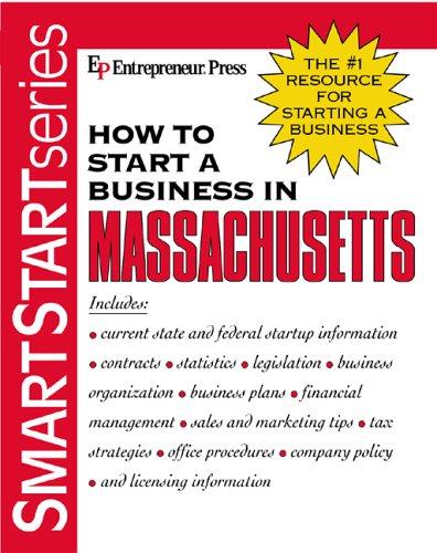 Image for How to Start a Business in Massachusetts (Smartstart Series (Entrepreneur Press).)