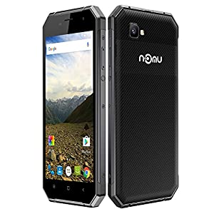 NOMU S30 Smartphone Outdoor Ragged Tough Phone IP68 Waterproof Dustproof Drop-resistant Shock-resistant 4G FDD-LTE 3G Android 6.0 5.5 Inches FHD 1920*1080Pixels Screen OTG Smart Gesture (Black)