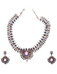 Kisan Jewellers Designer Necklace Set For Women (HSAN/147)