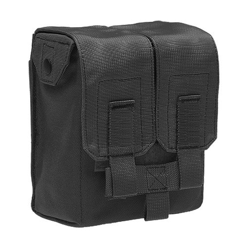 Flyye Tactical M249 200rds MOLLE System Ammo Pouch Magazine Pocket Airsoft Black