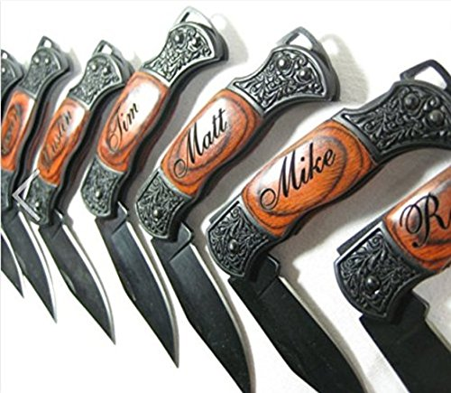 FREE ENGRAVING Laser Engraved Deco Handle Knife Customize Online