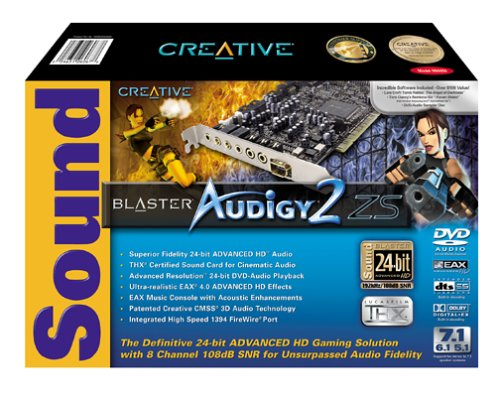 Creative Labs Sound Blaster Audigy 2 ZS Internal