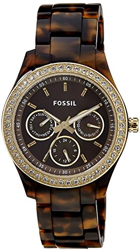 Fossil Women's ES2795 Stella Crystal-Accented
