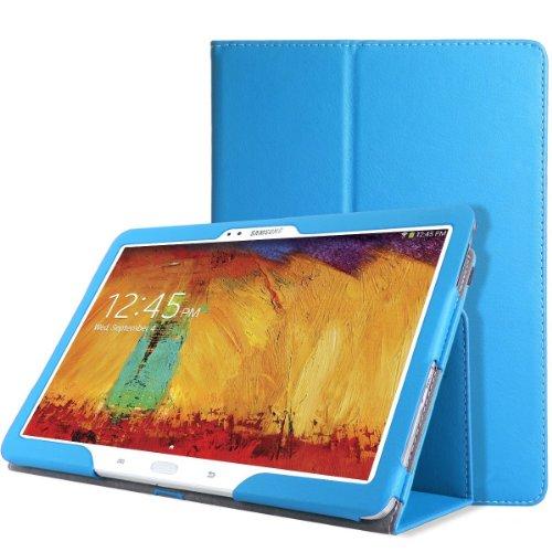 Wawo Samsung Galaxy Tab Pro 10.1 Inch Tablet Smart Cover Folio Case - Blue