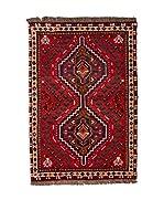 QURAMA Alfombra Persian Shiraz Rojo/Multicolor 130 x 75 cm