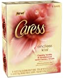 Caress Beauty Bar Soap, Endless Kiss, 4 Ounce, 8 Bars