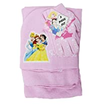 Princess 3pcs Set (Beanie, Glove, Scarf)