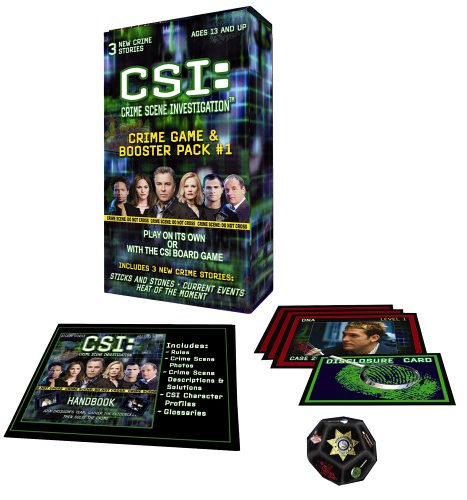 CSI: Crime Game Booster Pack