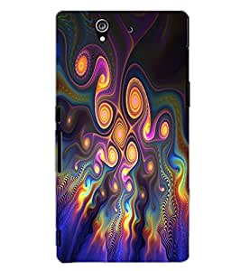 SONY XPERIA Z PATTERN Back Cover by PRINTSWAG