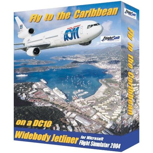 FLIGHTSOFT Fly To The Caribbean ( Windows )