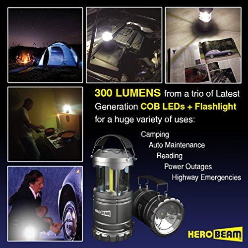 HeroBeam LED Lantern V2.0 with Flashlight
