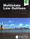 img - for Pieper Bar Review: Multistate Law Outlines, 18th Edition (2014) book / textbook / text book