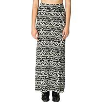 Billabong Juniors Moon Dreamer Skirt, Off Black, Large
