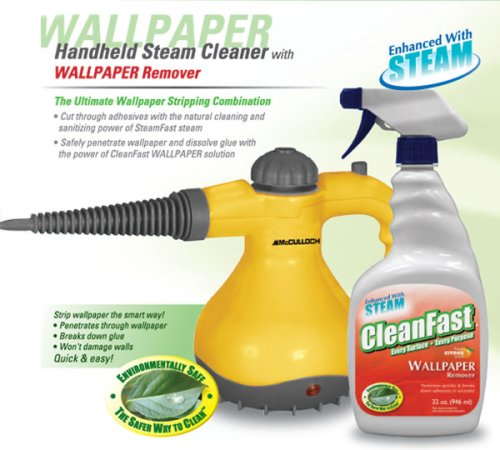 McCulloch Steam Cleaner and CleanFast Wallpaper Remover
