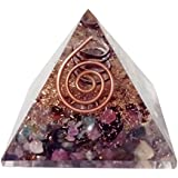 FairyBells Kart Energised Watermelon Tourmaline Orgonite Pyramid FBKAC112