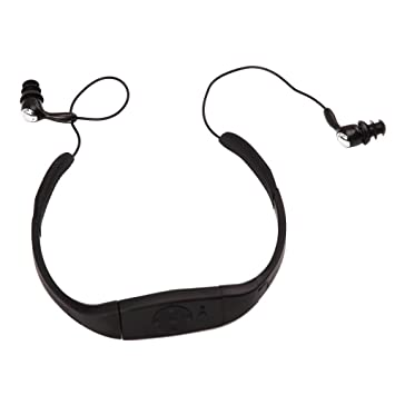 kkgud nouveau 4go usb usb mp3 tanche ipx8 waterproof avec fm radio radio pour natation. Black Bedroom Furniture Sets. Home Design Ideas