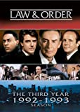 Law and Order - The Third Year (1992-1993 Season)