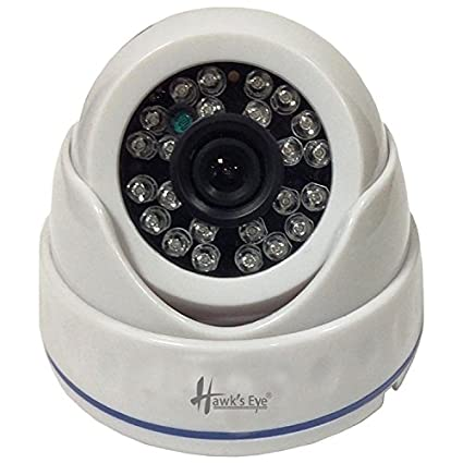 Hawks Eye D15-2480-C3 800TVL IR Dome CCTV Camera