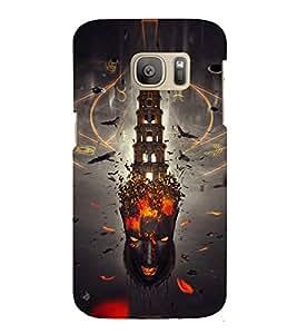 EPICCASE Mind burst Mobile Back Case Cover For Samsung Galaxy S7 (Designer Case)
