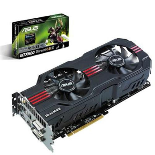 Asus GeForce GTX 580 DirectCu II Graphics Card (1.56GB)