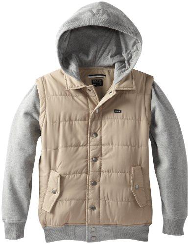 Модная толстовка для мальчиков RVCA Boys 8-20 Puffer Fleece