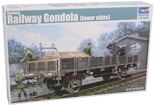 Trumpeter 1/35 WWII German Army Low Sides Gondola Rail Car (Trumpeter 1 35 Rail compare prices)