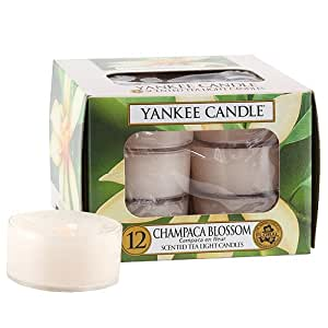 Yankee candle 1302679 bougie feux de the campaca en fleur for Meuble yankee candle