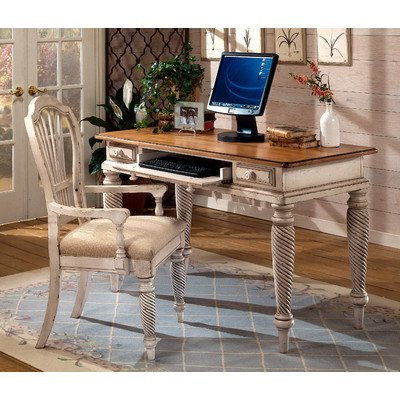 Hillsdale Wilshire Wood Writing Desk in Antique