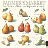 Farmers Market 2014 Wall Calendar: Four Seasons of Fruits and Vegetables