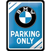 BMW Parking Only Metal Sign from Nostalgic Art