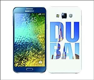 Galaxy Printed 1696 City Snapshots Dubai Hard Cover for Samsung CORE 2