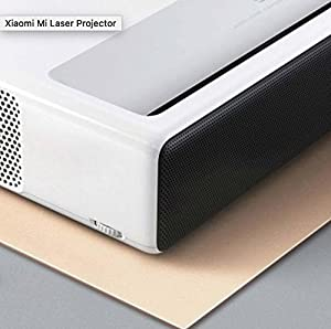 Video Projector,Xiaomi Mijia Laser projection TV Ultra Short Laser Display ALPD 150 Full HD Movie Viewing Home Cinema Theater Entertainment for 250000H life Voice Assistant w/Bluetooth Remote Control (Color: white)