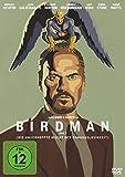 The Birdman - Blu-ray-Verpackung des Award-Gewinners mit Michael Keaton