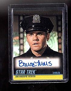 Star Trek Original series Bruce Mars autographed card