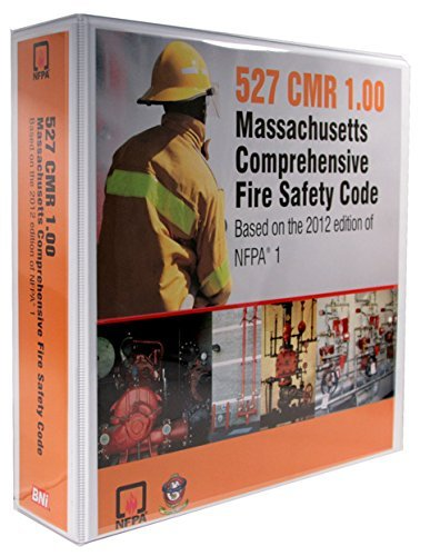 527 CMR 1.00 Massachusetts Comprehensive Fire Safety Code (Massachusetts Building Code compare prices)