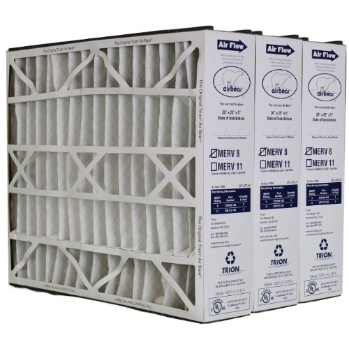 Trion Air Bear 255649-102 Replacement Filter - 20x25x5, Three Per Box (Furnace Filter Replacement compare prices)