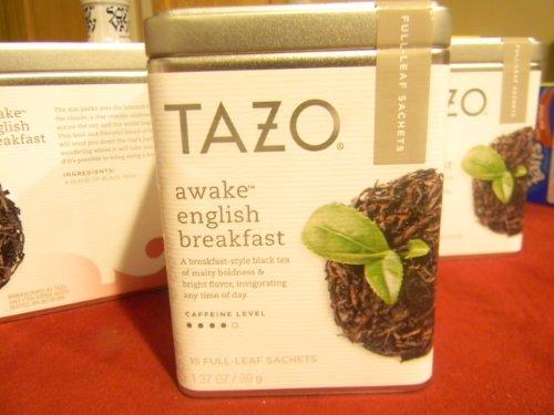 Image of TAZO Awake English Breadfast Tea In A Tin Cannister