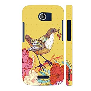 Micromax Canvas A117 Pisces Yellow designer mobile hard shell case by Enthopia