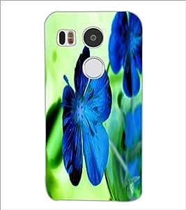 PrintDhaba Flower D-2436 Back Case Cover for LG NEXUS 5X (Multi-Coloured)