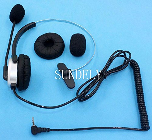 sundelyr-single-ear-silver-ear-shell-boom-mic-headphone-for-lucky-goldstar-lg-motorola-nec-nextel-pa