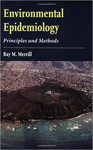 environmental epidemiology and gis
