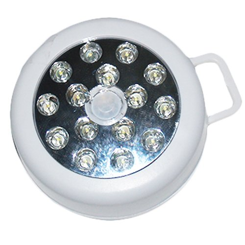 Inn Liites Led Motion Lights - Wireless - Automatic - Pir Light Sensitive - Hang Or Mount, Emergency - Security Lighting - Under Cabinet - In Cabinet Pantry Lighting - 15 Led Bulbs -90-105 Degree Light Spread. Integrate With Security Cameras