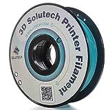 3D Solutech Teal Blue 3D Printer PLA Filament 1.75MM Filament, Dimensional Accuracy +/- 0.03 mm, 2.2 LBS (1.0KG) - 100% USA