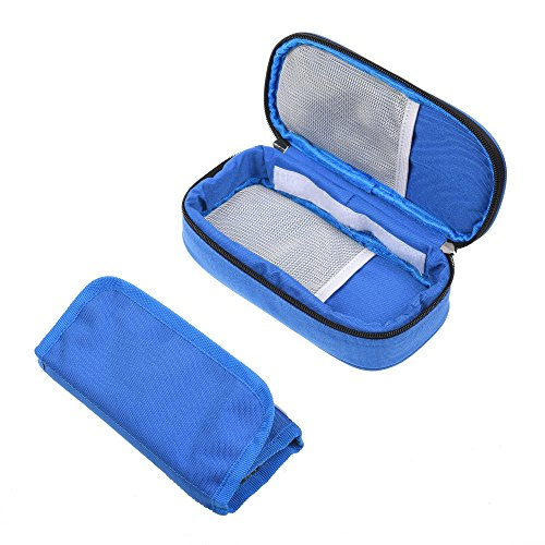 Kloud City ® Portable Diabetic Organizer Cooler Bag Medical Travel Camping Ice Case for Insulin,Testing Supplies (Diabetic Insulin Cooler compare prices)