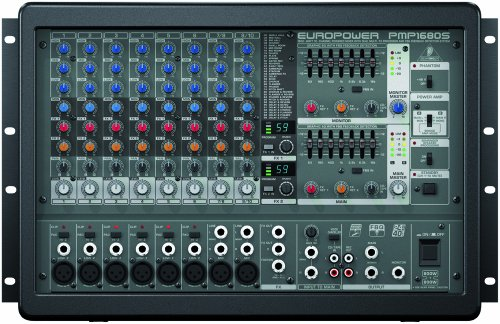 Behringer EUROPOWER PMP1680S 1600-Watt 10-Channel