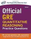img - for Official GRE Quantitative Reasoning Practice Questions book / textbook / text book